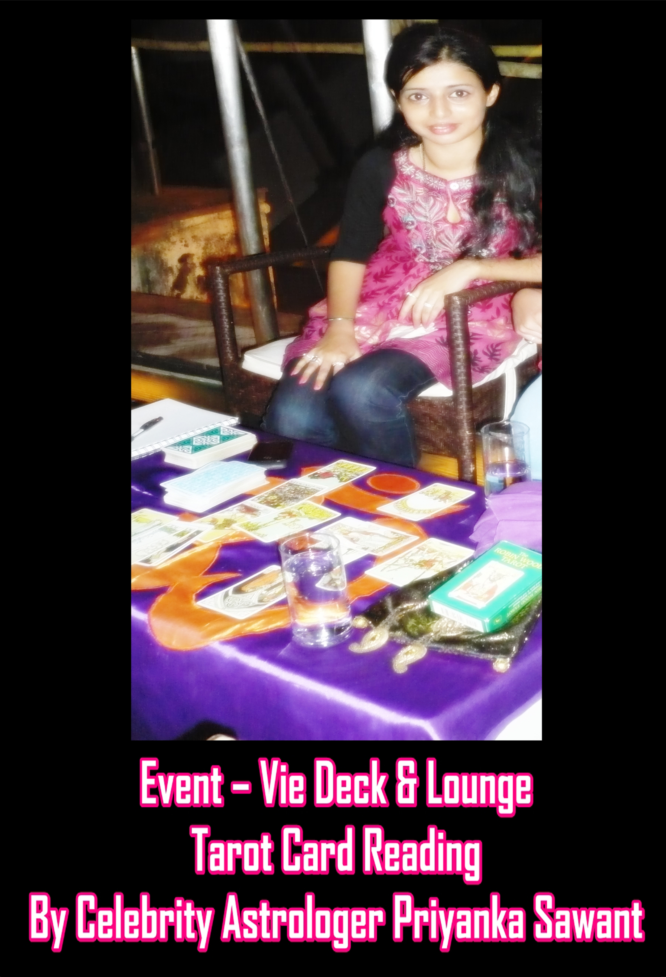Event - Celebrity Tarot Card Reader Astrologer Priyanka Sawant Mumbai