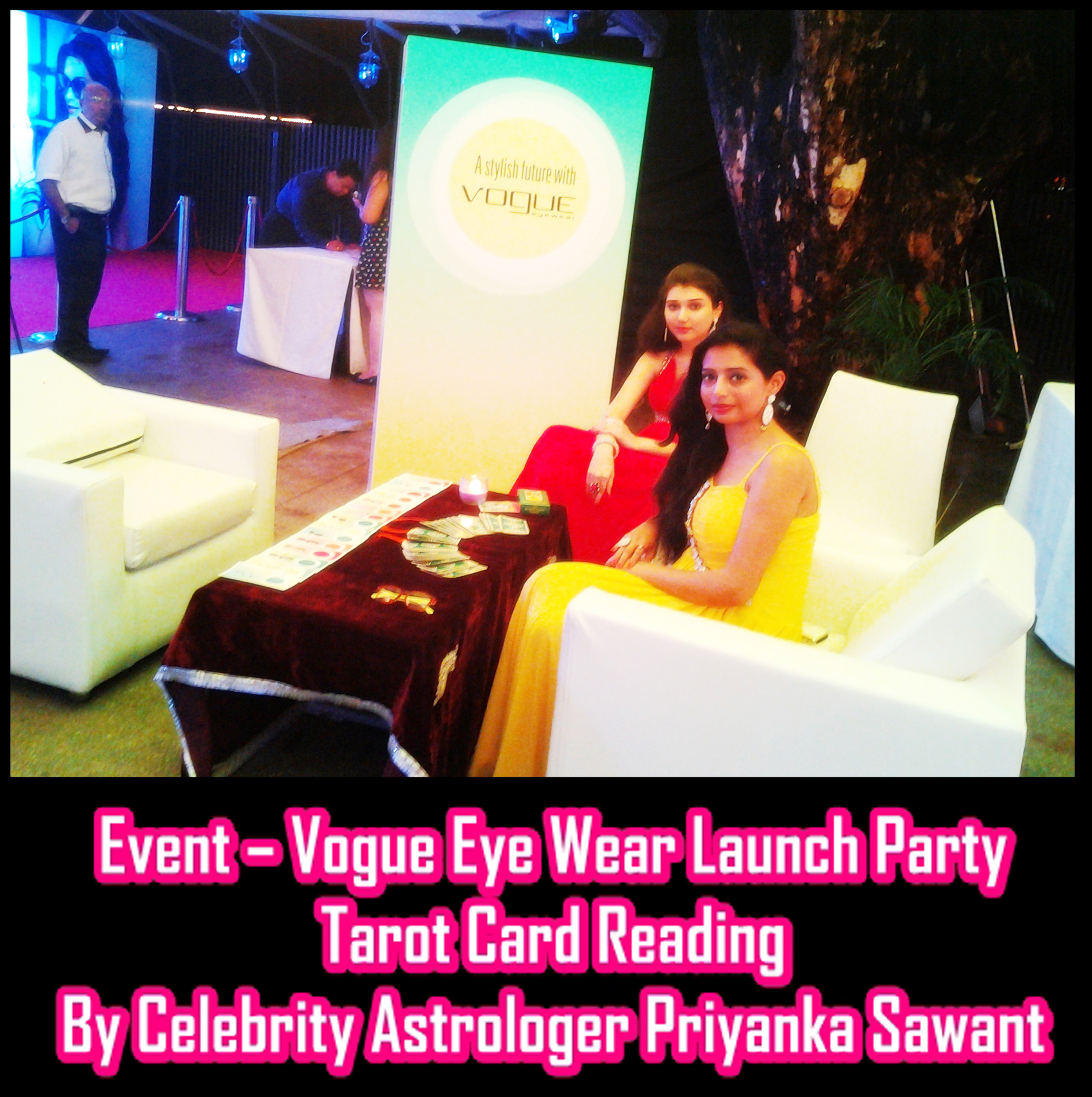 Event - Celebrity Tarot Card Reader Astrologer Priyanka Sawant Mumbai India