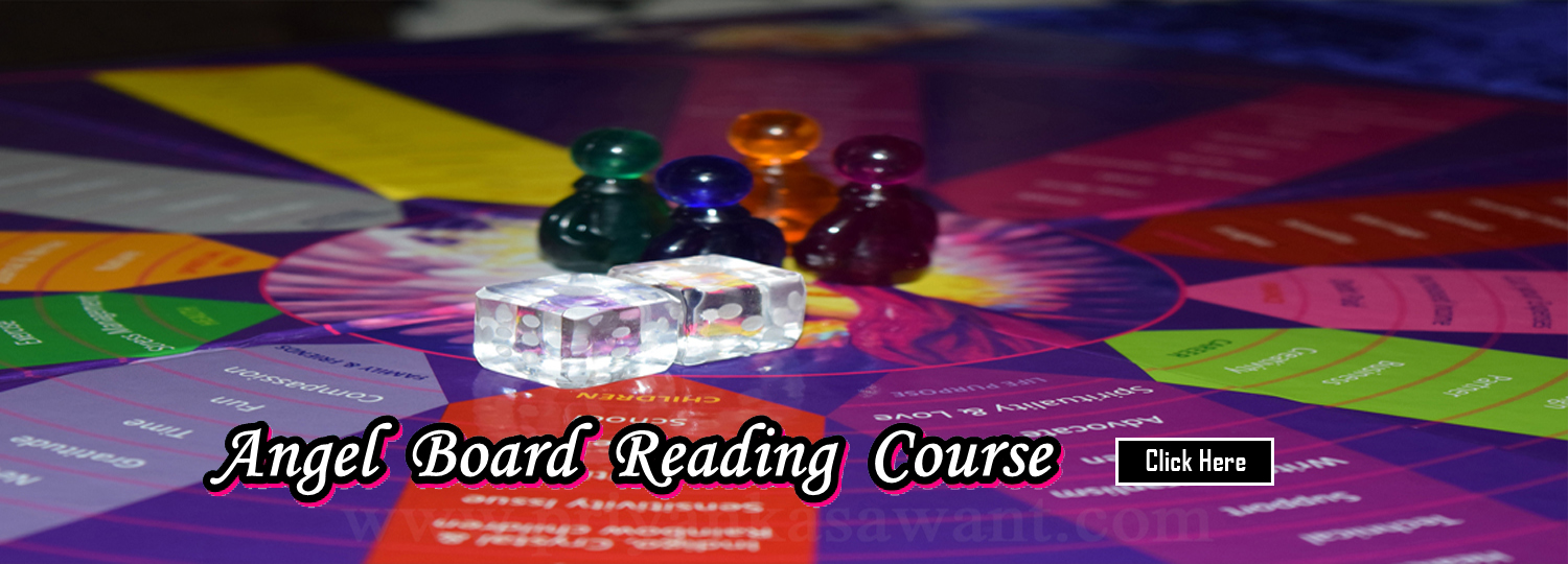 Celebrity Tarot Card Reader Astrologer Priyanka Sawant Mumbai India Angel Board Reading Course