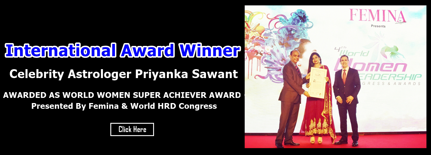 International Award Winner Celebrity Astrologer Priyanka Sawant