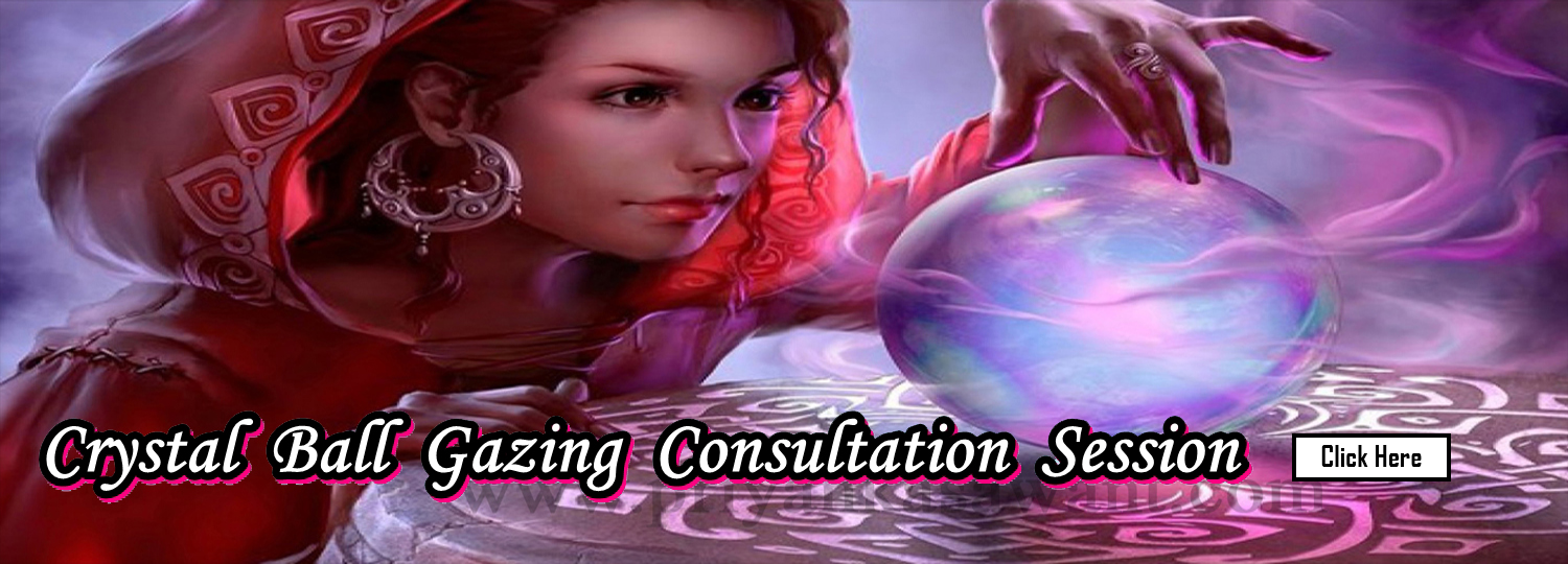 Celebrity Tarot Card Reader Astrologer Priyanka Sawant Mumbai India Crystal Ball Gazing