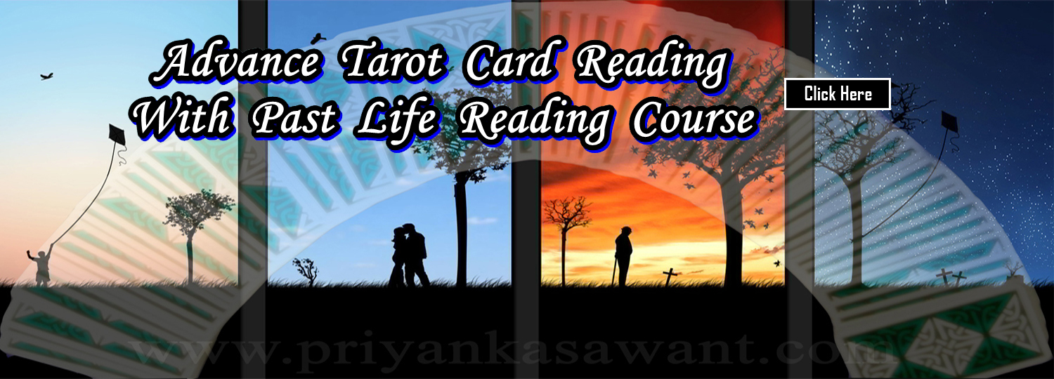 Celebrity Tarot Card Reader Astrologer Priyanka Sawant Mumbai India Advance Tarot Cards Reading With Past Life Regression Course