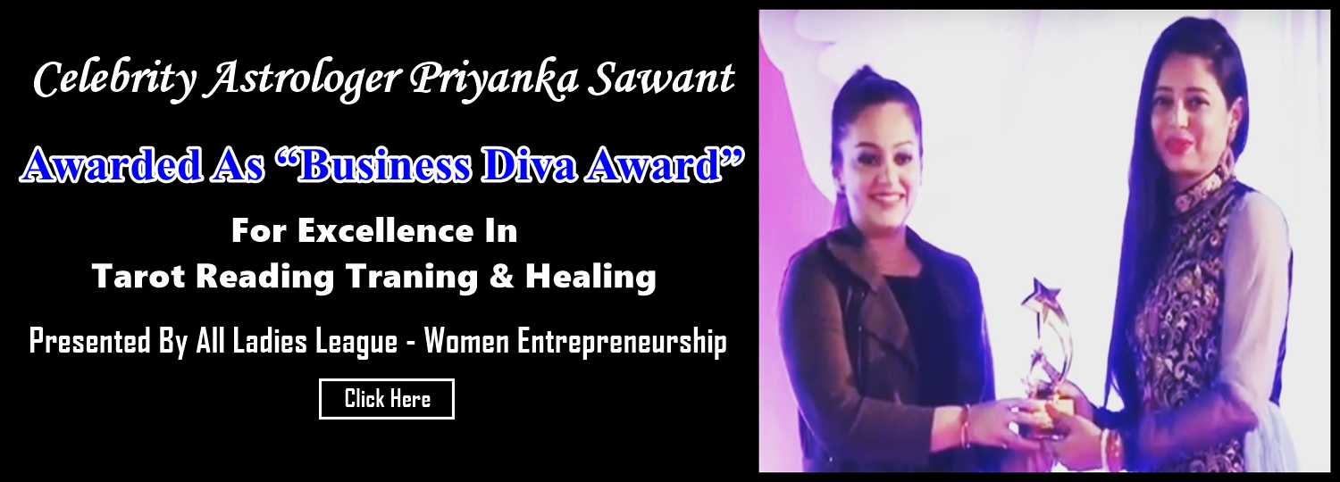 Business Diva Award For Excellence Celebrity Astrologer Priyanka Sawant – home page banner